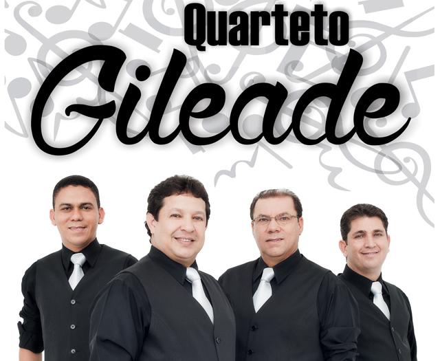 novo cd do quarteto gileade